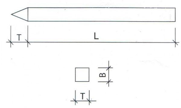схема опоры ЛЭП