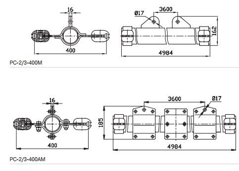 Распорки специальные для обводки шлейфов схемы чертежи